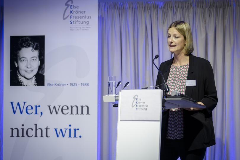 "Festvortrag von Katie Dain, CEO der NCD Alliance, zum Thema: ""Non-Communicable Diseases – A Global Health and Development Tsunami"""