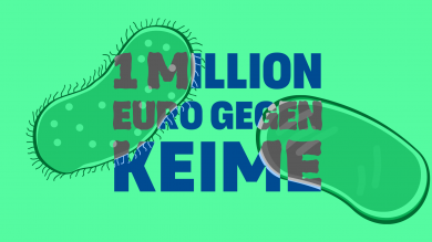 1 Million Euro gegen Keime