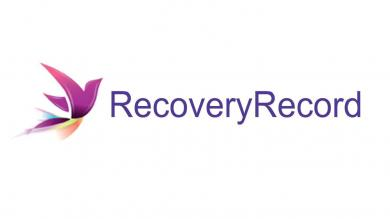 "Logo of ""Recovery Record"""